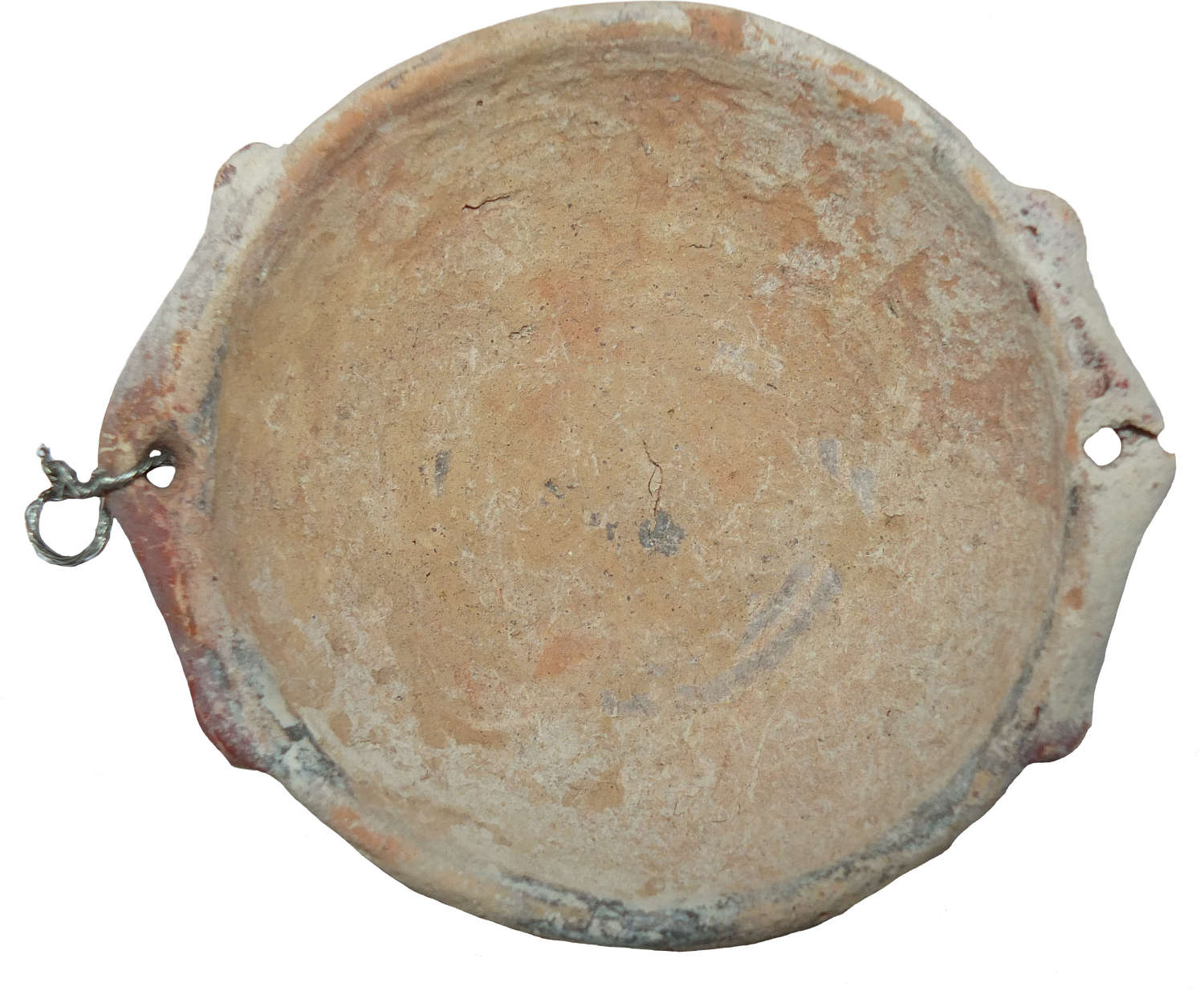 A small Cypriote shallow dish in Bichrome Ware, c. 750-475 B.C.