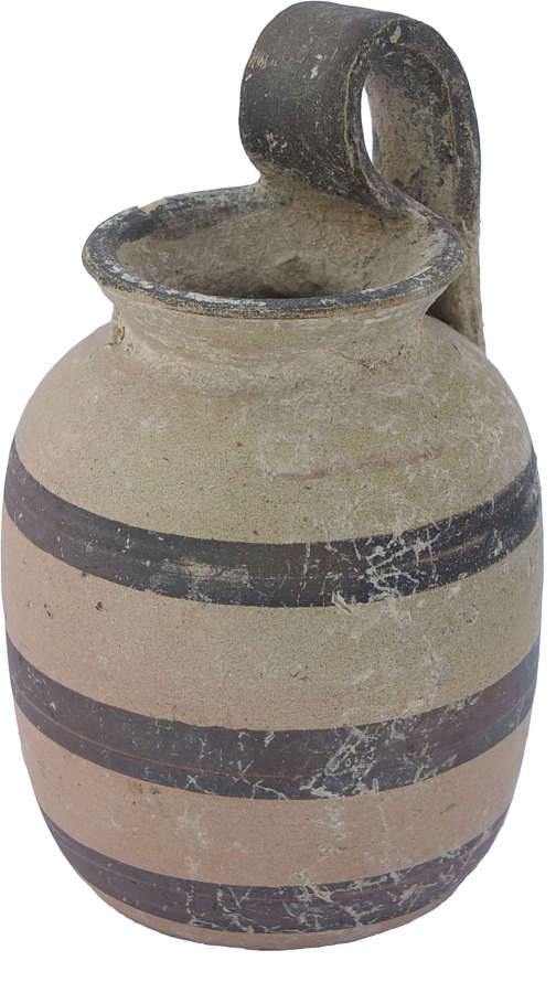 An Apulian squat cylindrical juglet, 4th Century B.C.