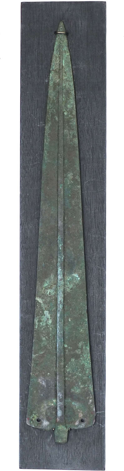 A bronze spearhead or dagger blade from Marlik, Northern Iran