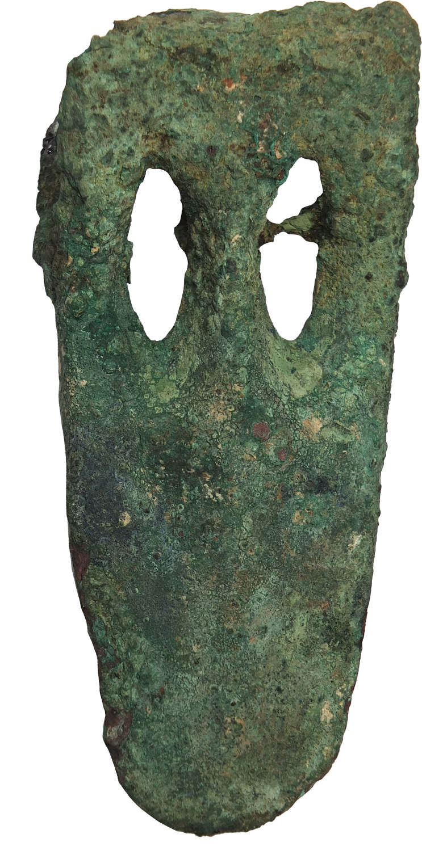 A Near Eastern duck-billed bronze axehead, c. 2nd Millennium B.C.
