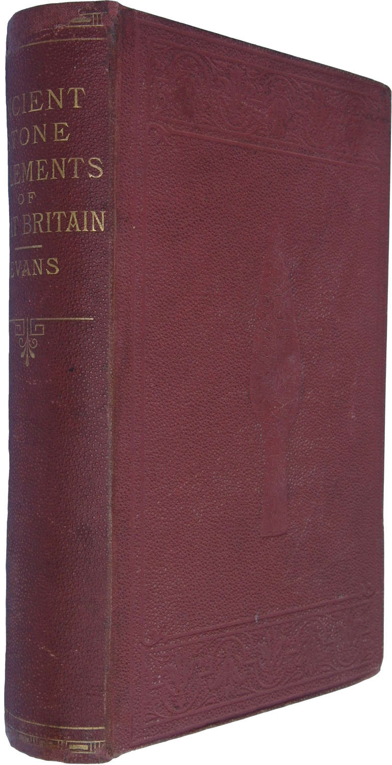 'The Ancient Stone Implements of Great Britain' by John Evans, 1872