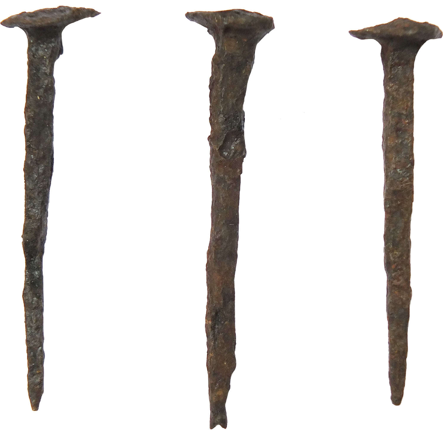 Roman iron nails from the famous Inchtuthil nail hoard, 87 A.D.