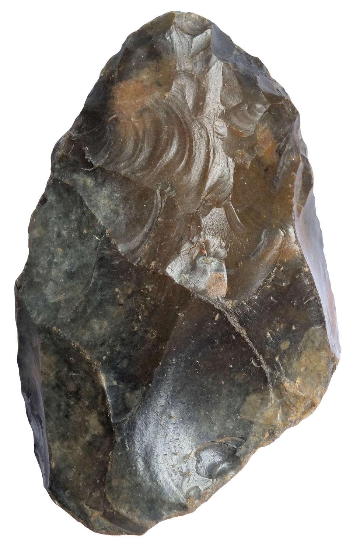A Lower Palaeolithic flint handaxe from Barnham in Suffolk