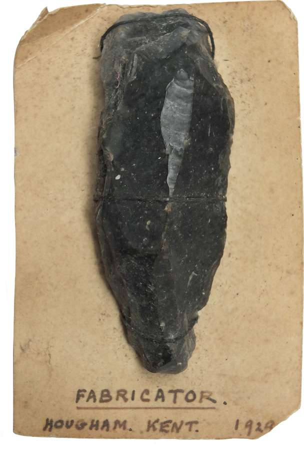 A Neolithic flint fabricator found near Dover, Kent, in 1929