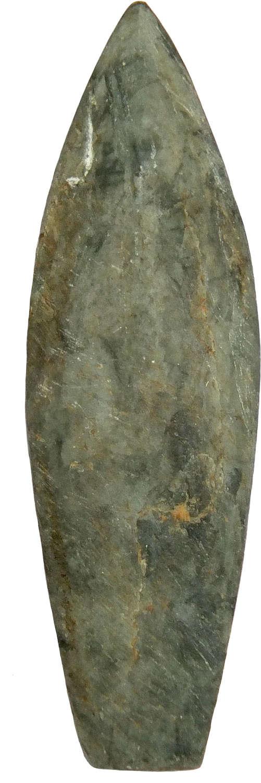 An Aleut ground slate arrowhead, Alaska or the Canadian Arctic