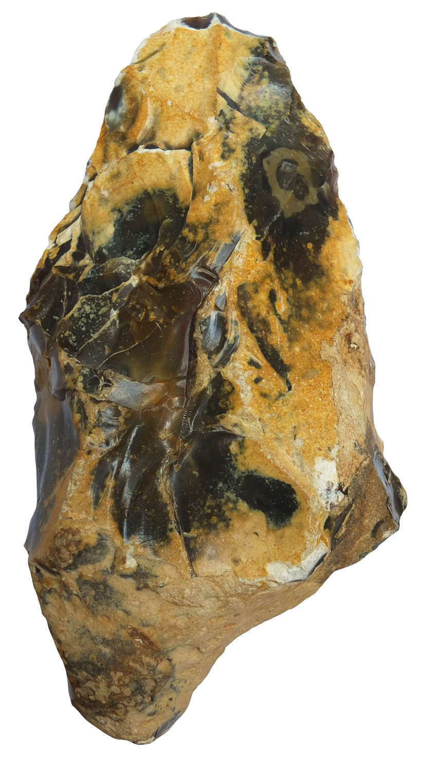 A Lower Palaeolithic flint handaxe from Oise, Picardie, France