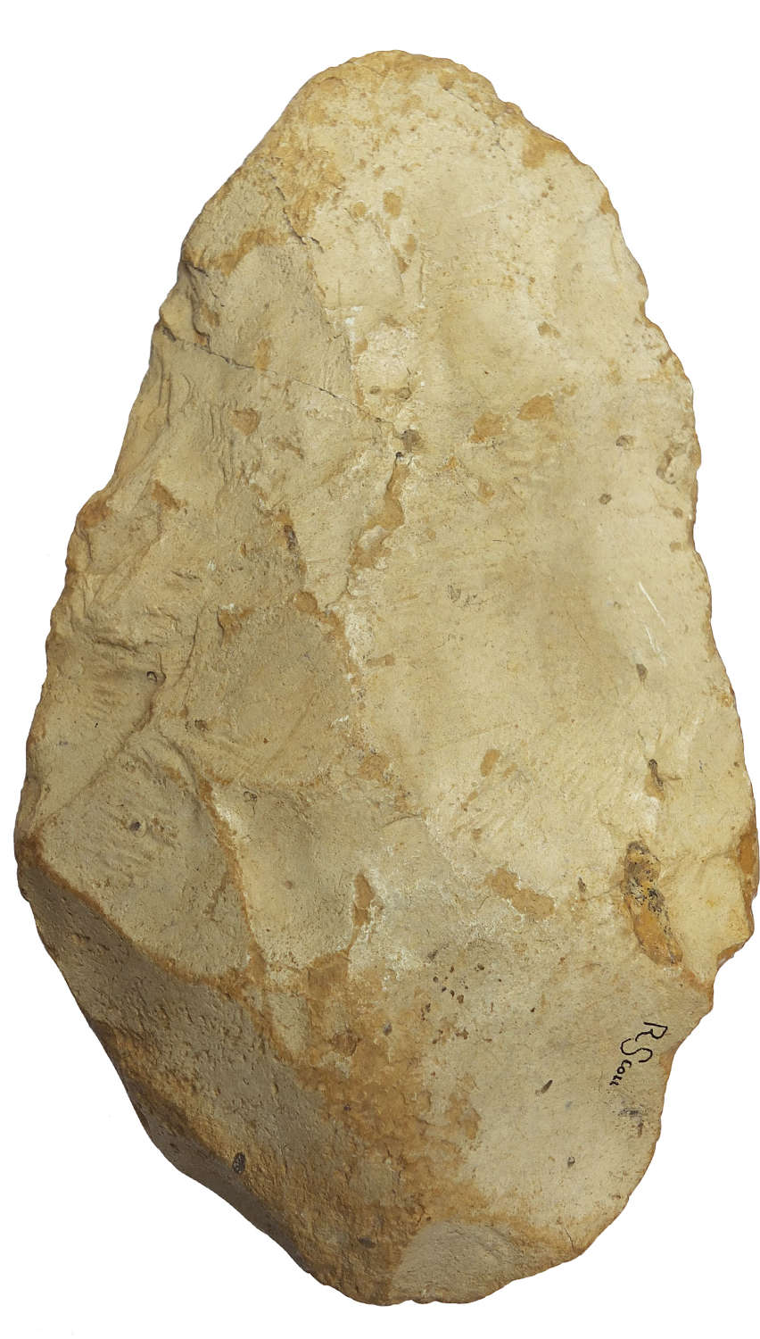 A Lower Palaeolithic chert handaxe from Graves, Charente, France