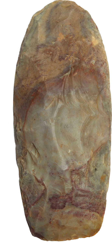A fine Tenere Culture grey-brown flint axe, Niger