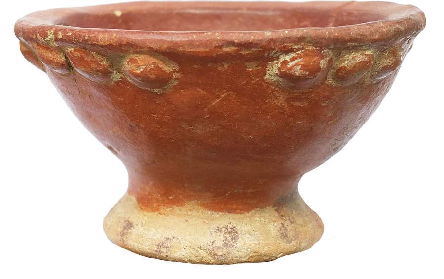 A Costa Rican pedestal bowl, c. 800-1500 A.D