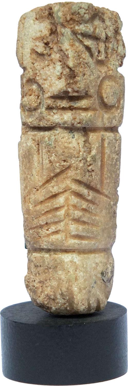 A Mixtec penate stone figure, Mexico, c. 900-1500 A.D.