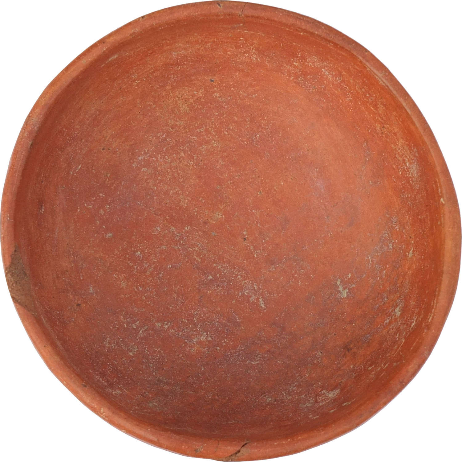A Mexican red-slipped red ware bowl, c. 1st Millennium A.D.
