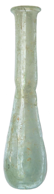 A Roman pale blue-green glass unguentarium, c. 1st-2nd Century A.D.