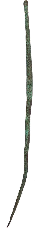 A Roman bronze pin, c. 2nd-3rd Century A.D.