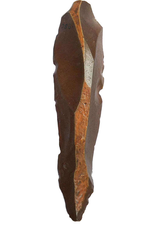An Egyptian Palaeolithic chert knife, ex De Barri Crawshay Collection