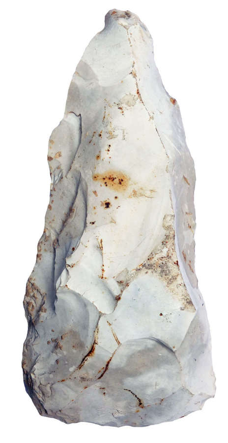 An unusual Neolithic adze-like flint tool found at East Lavant, Sussex